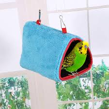 heat l for bird aviary conure hanging cage plush hut parrot hanging cage bird hammock warm