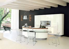 kitchens with an island curved kitchen island kitchentoday