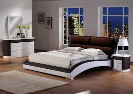 Modern Master Bedroom Set Bedroom Design Ideas - Modern white leather bedroom set