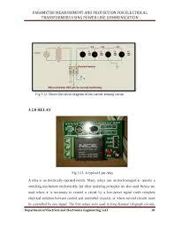 transformer protection using plc
