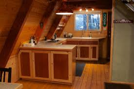 a frame kitchen ideas tiny a frame cabin into the woods11 tiny cabins cabin and woods