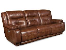Rustico Bedroom Set Crescent Double Reclining Sofa With Power Headrest By Southern