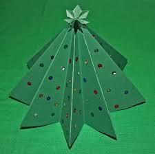 christmas tree paper crafts ye craft ideas
