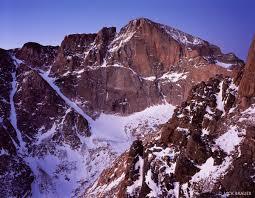 Longs Dawn At The Diamond Rocky Mountain National Park Colorado