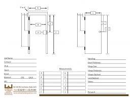 garage door size chart bernauer info just another inspiring photos