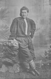 nettie honeyball founder and star of the british ladies football