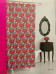 amazon com betsey johnson leopard shower curtain 72