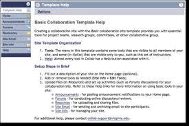 uvacollab site templates