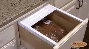bread drawer showplace kitchen convenience accessories youtube