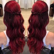 Frisuren Mittellange Haar Rot by Bordeaux Rot Ist Die Farbe Für Den Herbst Schauen Sie Sich Diese