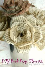Paper Mache Ideas For Home Decor Best 25 Book Page Flowers Ideas On Pinterest Book Flowers