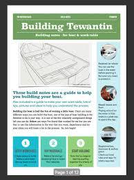 boat plans tewantin 3 4m diy plywood sports boat tim weston