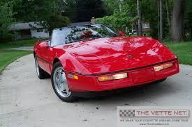 1989 corvette convertible thevettenet com 1989 convertible corvette details