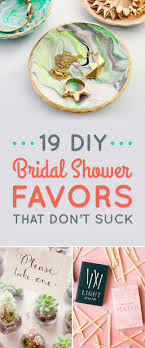 bridal shower favors diy 19 diy wedding shower favors that are stupid easy