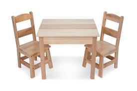 kids wooden table and chairs set https truimg toysrus com product images melissa doug solid wood