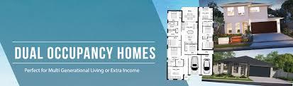 Dual Occupancy Floor Plans Meridian Homes Australia
