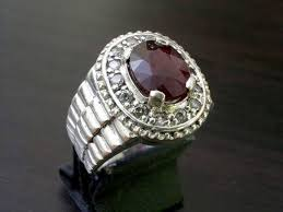 natural ruby rings images Natural ruby ring for men in 925 sterling by razamohsin on zibbet jpg