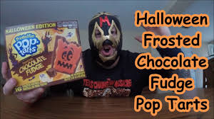 halloween pop tarts halloween printed fun frosted chocolate fudge pop tarts youtube