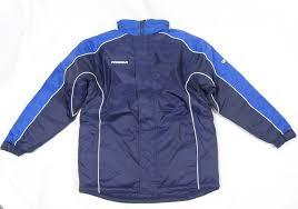 boys blue prostar vortex waterproof winter football jacket age 13
