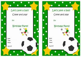 football invitation templates u2013 diabetesmang info