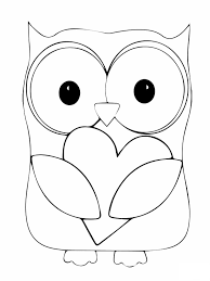 Owl Coloring Pages The Sun Flower Pages Owl Color Pages