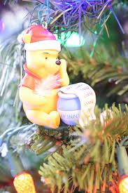 Winnie The Pooh Christmas Tree Decorations Cozy Christmas Home Tour 2016