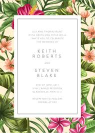 tropical wedding invitations wordings exquisite wedding invitations free printable with
