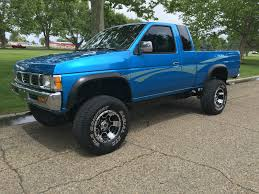 blue nissan truck daily turismo auction watch 1996 nissan d21 hardbody 4x4 pickup