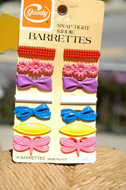 vintage 1980s goody barrettes i had these 3 kids