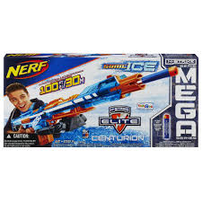 nerf car shooter nerf n strike elite sonic ice centurion blaster toys