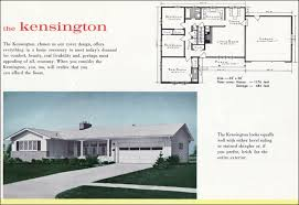 colonial ranch style home plan 1960 mid century house plans mid