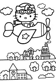 hello kitty black and white clip art 62