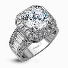 nice big rings images Simon g diamond engagement ring marc samuels frisco jpg