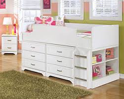 Bunk Bed With Dresser Bunk Beds Kids Sleep Is A Parents Dream Ashley Furniture Homestore