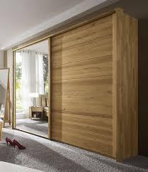 Schlafzimmerschrank Extra Hoch Wildeiche Kleiderschrank Roseville Massivholz Mit Spiegel