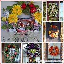 door wreaths decorative front door wreaths year