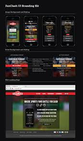 Table Ux Fanclash Branding And Ux Ui Design Nelson Martin Graphic
