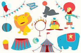 margarita time clipart circus clip art illustrations creative market