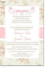 cu967 shabby chic wedding invitation engagement u0026 wedding