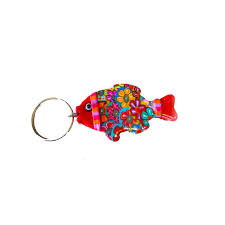 unique key ring fish keychain fish key ring keychain key holder unique key