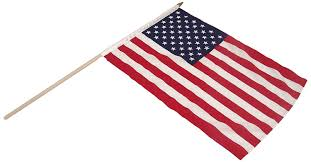 Miniature Flags Amazon Com Us Flag Store Us Stick Flag 12 By 18 Inch Mounted On