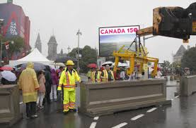 when did canada start celebrating thanksgiving security hurdles curb attendance at canada 150 celebrations in