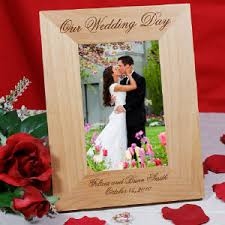 personalized wedding photo frame engraved gifts