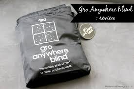 Portable Blackout Blinds Gro Anywhere Blind Review Thebrunettesays