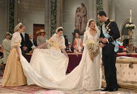 everything wedding who designed letizia of spain s wedding dress popsugar