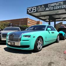 wrapped rolls royce rdbla tiffany rolls royce ghost rdb la five star tires full