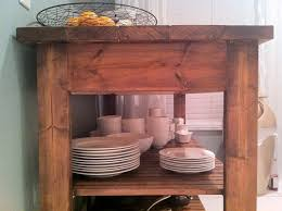 Kitchen Island Cart Plans by Diy Kitchen Island Plans Ideas Home Designs Within Free Standing