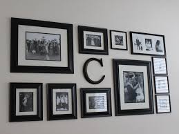 Letter Wall Decor Captivating Image Of Home Interior Wall Decoration Using Initial
