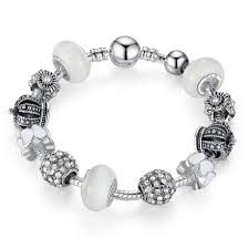 bangle style charm bracelet images 925 silver charm bracelets fits pan style bracelet bangle with jpg
