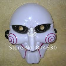 saw killer mask scary chainsaw massacre mask grimace halloween